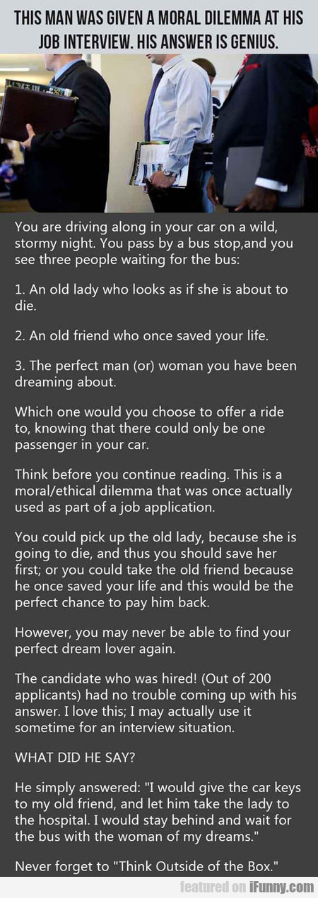You Are Driving Along In Your Car
