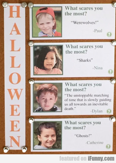 What Scares You The Most?