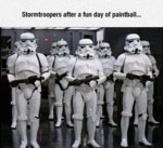 Stromtroopers After Playing Paintball...
