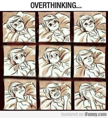 Overthinking Before Sleep