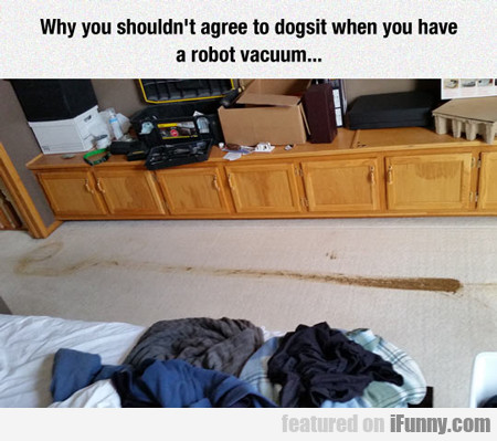 Don't Dogsit If You Have A Roomba...