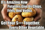 It's Amazing How Potatoes Give Us Chips...