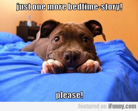 Just One More Bedtime-story
