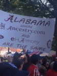 Alabama: Where Eharmony And Ancestory....