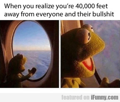 When You Are Above...