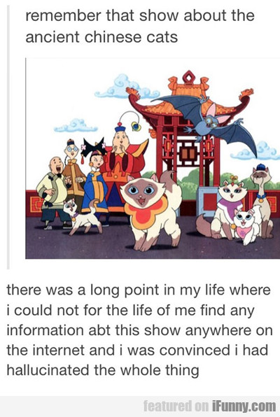 Remember The Show About Chinese Cats?