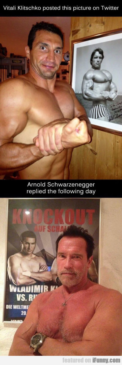Arnold Responded...