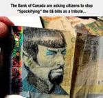 Stop Defacing The 5$ Bill...