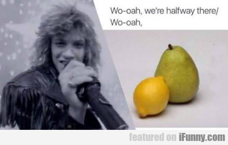 Lemon And A Pear...