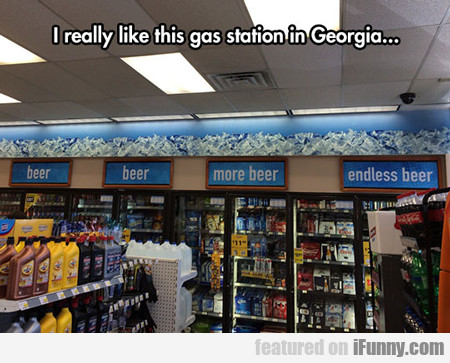 I Like This Gas Station...