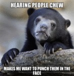 Hearing People Chew