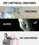 Top Three Mythical Creatures...