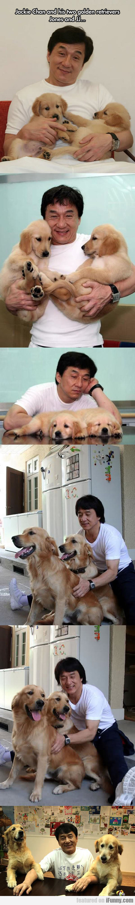 Jacky Chan Loves Dogs