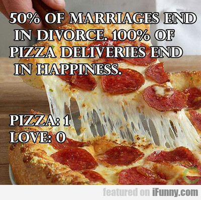 50% Of Marriages Will End In Divorce...