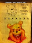Draw Pooh In The Grid...