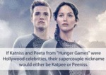 If Peeta And Katniss Had A Celebrity Name...