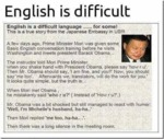 English Is A Difficult Language