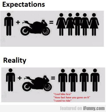 Owning A Motorcycle - Expectations Vs. Reality