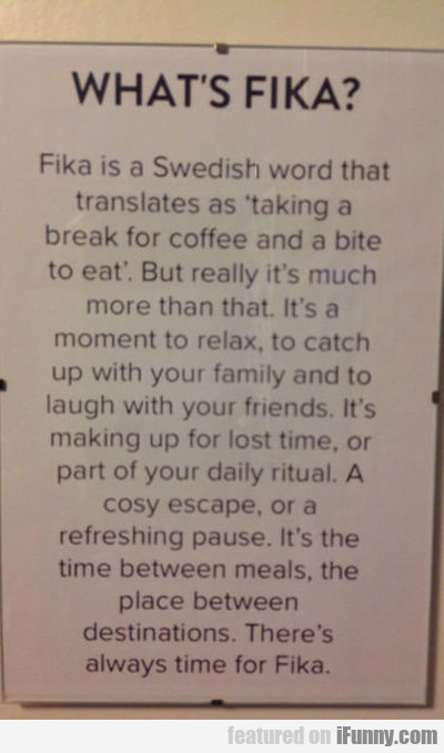 What's Fika?
