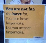 You Are Not Fat...
