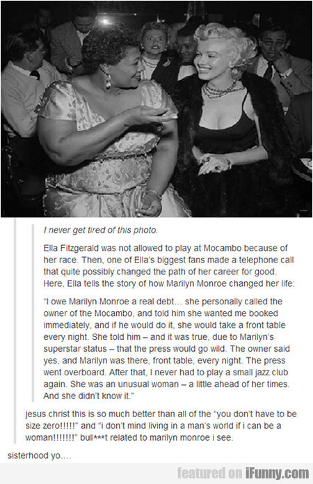Ella Fitzgerald Was Not Allowed To Play At Mocambo