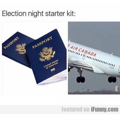 Election Night Starter Kit...