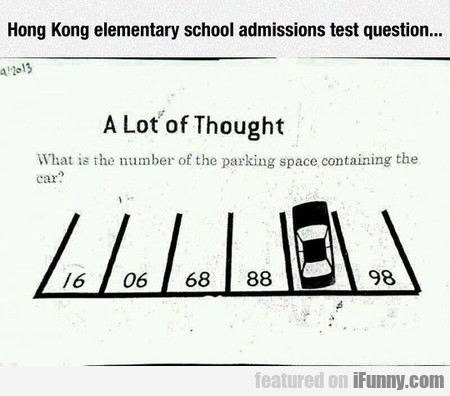 Hong Kong Elementary School Admissions Test