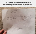 I Am A Lawyer, My Son Told Me He Had To Tell