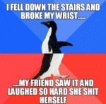 I Fell Down The Stairs...
