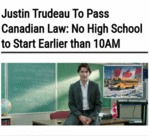 Trudeau To Pass Canadian Law...