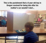 The Punishment That A 6 Year Old Boy Received