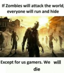 If Zombies Will Attack The World...