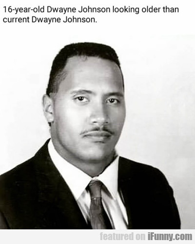 16 Year Old The Rock