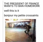 The President Of France...