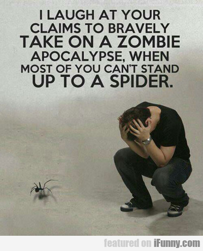 Afraid Of Spiders...