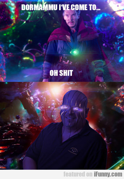 I've come to bargain...