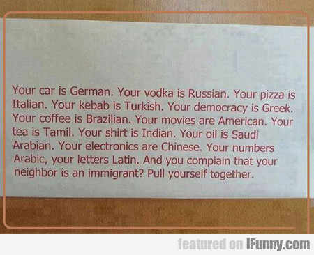 Your Vodka Is Russian