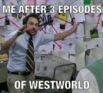 Me After Three Episodes Of Westworld...