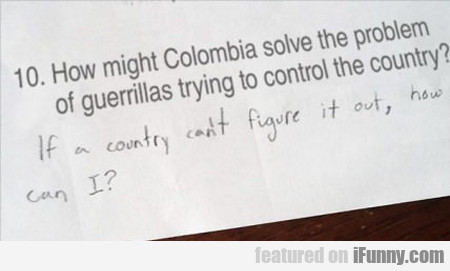 How Might Colombia...