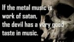 If The Metal Music Is The Work Of Satan...