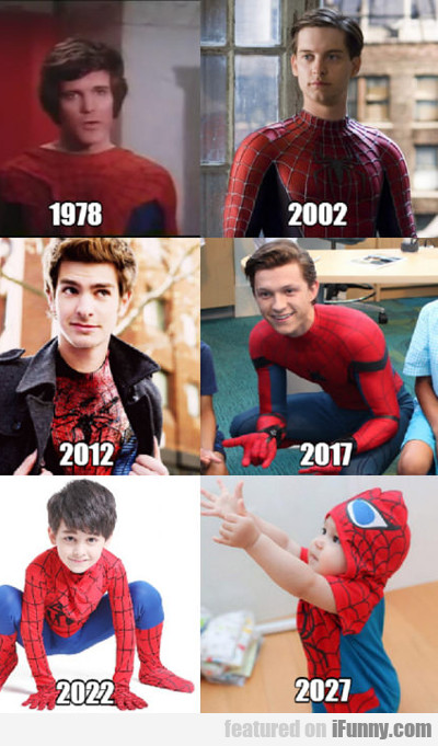 Spider-man Over The Years...