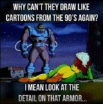 Why Can't They Draw Like Cartoons...