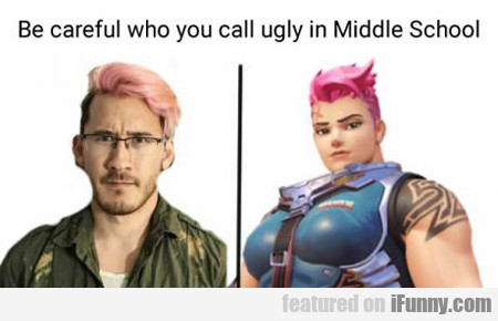 Be Careful Who You Call Ugly When In School...