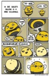 In Bee Society, Bullying Is Rare