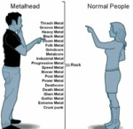 Metalheads Vs Normal People...