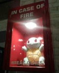 In Case Of Fire Break The Glass...