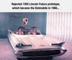 Rejected 1955 Lincoln Futura...