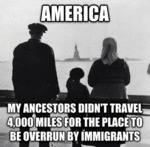 My Ancestors Didn't Travel 4000 Miles