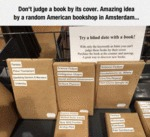 Don't Judge A Book By Its Cover. Amazing Idea...