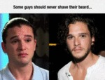 Some Guys Should Never Shave Their Beards...